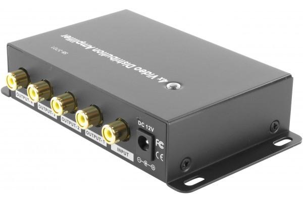 Splitter amplificateur video rca 4 voies