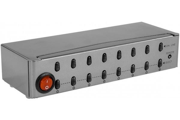 Commutateur VGA avec télécommande – 8 Entrées/1 Sortie