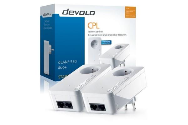 Devolo CPL dLAN 550 duo+ starter kit