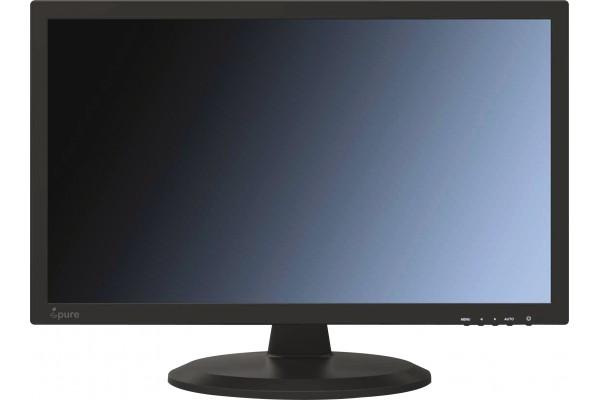 Ecran videosurveillance dalle verre hdmi 4BNC+VGA ipure GV24