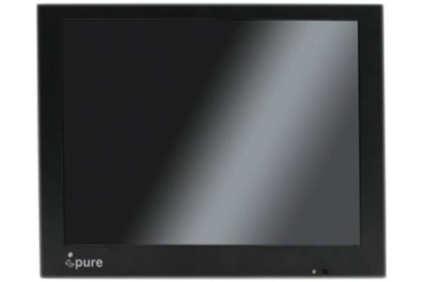 ECRAN VIDEOSURV LED IPURE CVE10 CHASSIS METAL + PIED
