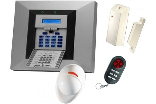 Centrale alarme ss fil nf A2P visonic powermax pro-8