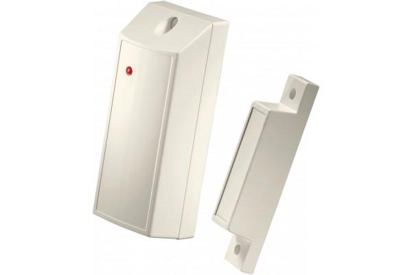 Contact d'ouverture de porte sans fil avec relais NF A2P
