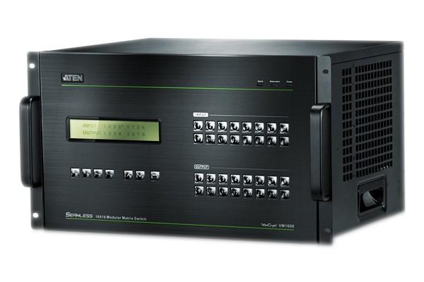 ATEN VM1600 matrice audio-vidéo 16 x 16 à châssis modulaire