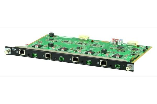 Aten VM7514 carte d'entrée 4 ports HDbaseT pour VM1600