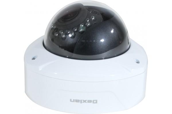 Dexlan camera dome analogique antivandales ext j/n 1000TVL
