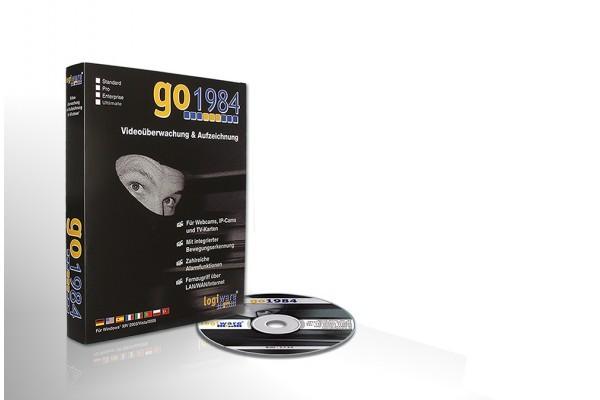 Logiciel de gestion de cam ip/analo pour pc GO1984 PRO