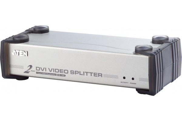 Aten VS162 splitter dvi+audio 2 ports 1920X1200 DDC2B