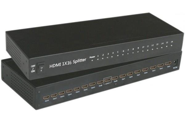 Duplicateur HDMI® 16 voies 3D rackable 19″