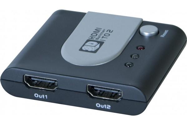 Duplicateur HDMI 3D 2 voies