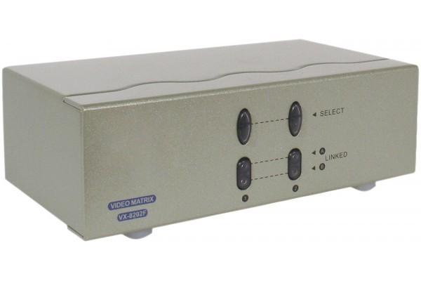 Matrice video VGA – 2 PC vers 2 Ecrans