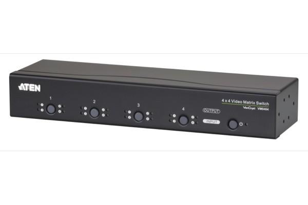 Aten VM0404 matrice vga 4 x 4 + audio