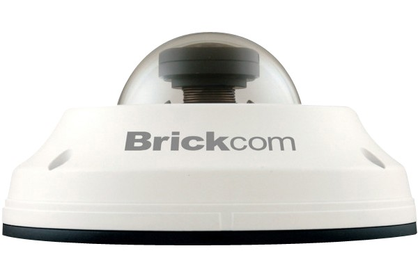 Brickcom camera dome ip fisheye ext antivand 360°
