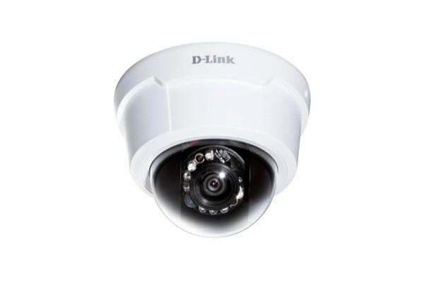 Caméra dôme IP PoE DLINK DCS-6113 intérieure jour/nuit