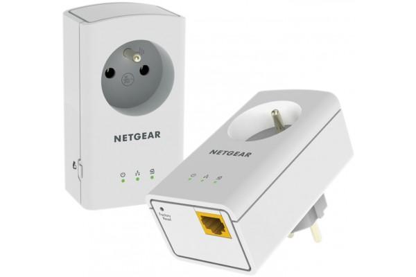 Netgear XAVB5421 CPL 500 avec prise – pack de 2