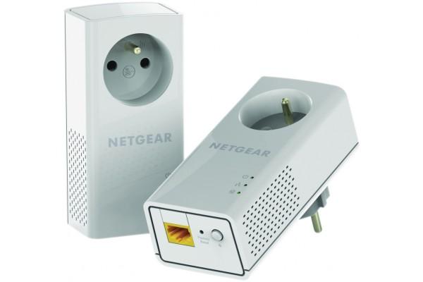 Netgear PLP1200 cpl AV120 avec prise – pack de 2