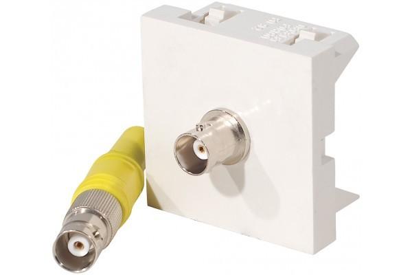 Plastron adaptateur bnc f/f – 0,20 m