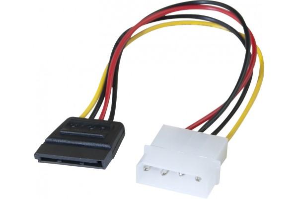 Adaptateur d'alimentation Molex vers SATA – 20 cm