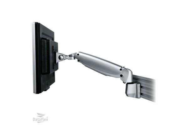 Dataflex bras support sur rail 57110 – 1 ecran jusqu'a 24»