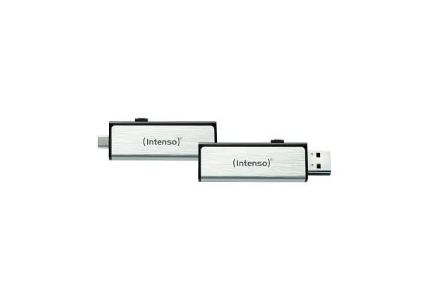 Clé USB 2.0 INTENSO Mobile Line USB + Micro USB – 16Go