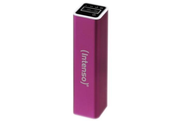 INTENSO PowerBank Alu A2600 Micro USB / USB – 2600mAh Rose
