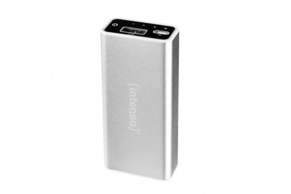 INTENSO PowerBank Alu A5200 Micro USB / USB – 5200mAh Gris