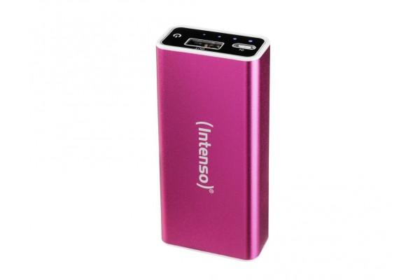INTENSO PowerBank Alu A5200 Micro USB / USB – 5200mAh Rose