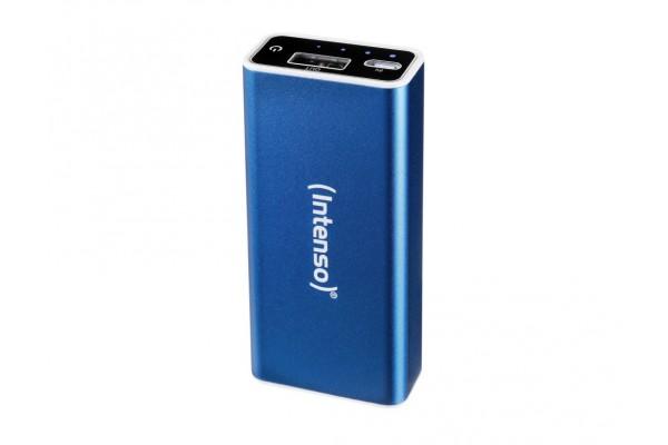INTENSO PowerBank Alu A5200 Micro USB / USB – 5200mAh Bleu