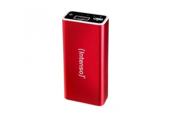 INTENSO PowerBank Alu A5200 Micro USB / USB – 5200mAh Rouge