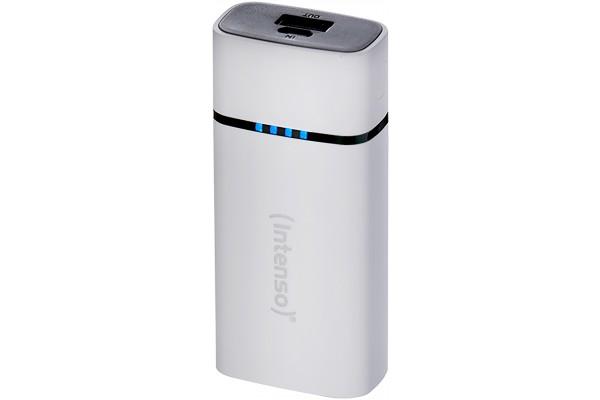 INTENSO PowerBank P5200 Micro USB / USB – 5200mAh Blanc