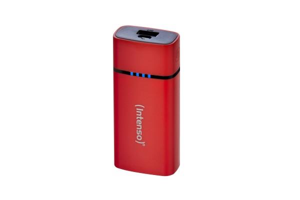 INTENSO PowerBank P5200 Micro USB / USB – 5200mAh Rouge