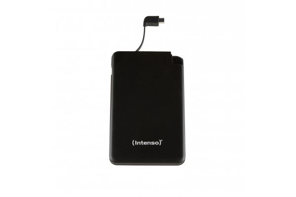 INTENSO PowerBank Slim S5000 Micro USB / USB – 5000mAh Noir
