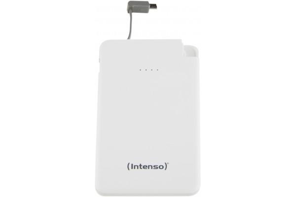 INTENSO PowerBank Slim S5000 Micro USB / USB – 5000mAh Blanc