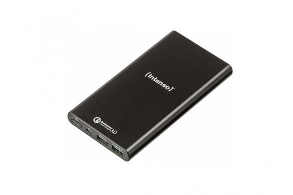 Intenso powerbank Q10000 charge rapide microUSB/2USB – noir