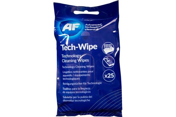 Af boite de 25 lingettes de nettoyage pour apareils mobiles
