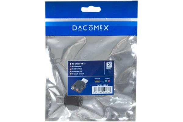 Dacomex sachet mini carte son usb entree/sortie