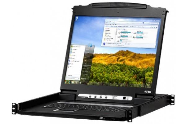 Aten CL6700 console DVI LCD 19″ 1 port DVI-I/USB