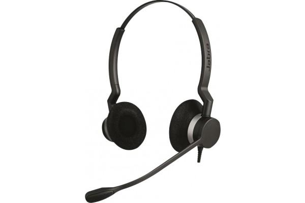 Jabra biz 2300 duo antibruit micro flex – 2 écouteurs