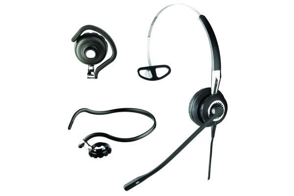 Jabra BIZ 2400 casque téléph. MicroFlex – 1 écout.3 fixation