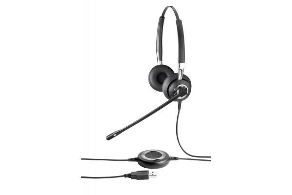 Jabra BIZ 2400 casque téléph. MicroFlex – USB 2 écouteurs