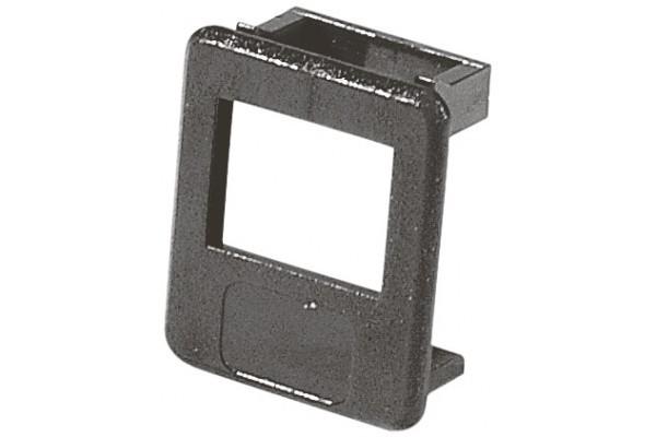 Insert pour panneau RJ lot de 50 pcs-noir