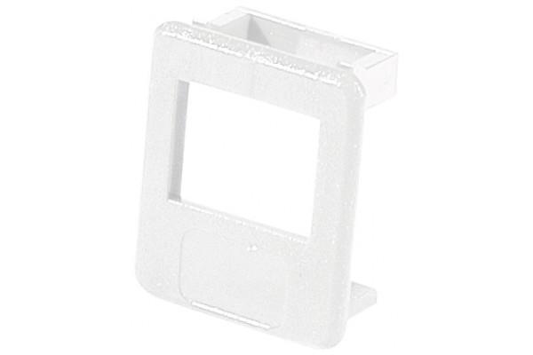 Insert pour panneau RJ lot de 50 pcs-Blanc