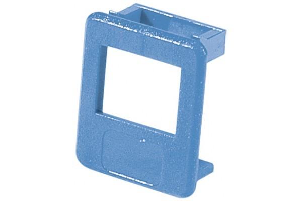 Insert pour panneau RJ lot de 50 pcs-bleu