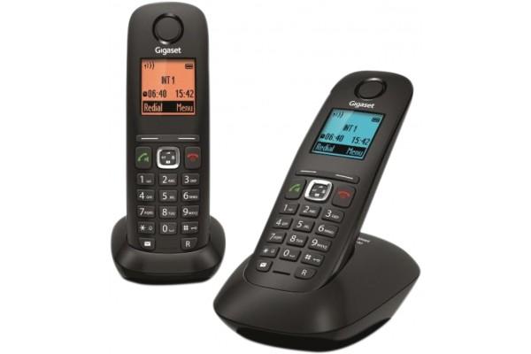 Gigaset A540 téléphone DECT noir – DUO