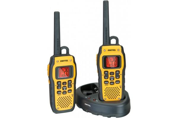 Set de 2 talkie walkies professionnel submersible / flottant