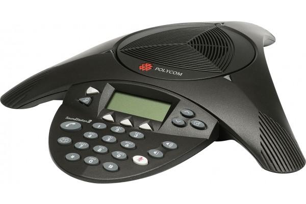 Polycom soundstation 2 tele-conferencier analogique