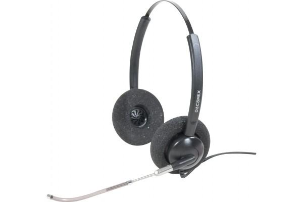 Dacomex casque Pro Audio Tube telescopique – 2 écouteurs