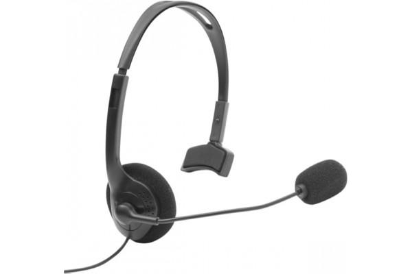 Dacomex micro casque téléphonique eco 2 jack 3.5 + RJ9