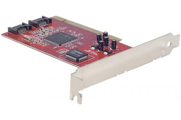 Carte PCI controleur SATA Low Profile – 2 ports internes