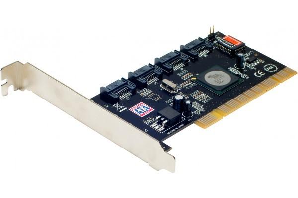 Carte PCI SATA II RAID5 – 4 ports internes